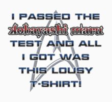 Kobayashi Maru Test - T-shirt One Piece - Short Sleeve