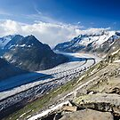 Aletsch glacier by peterwey