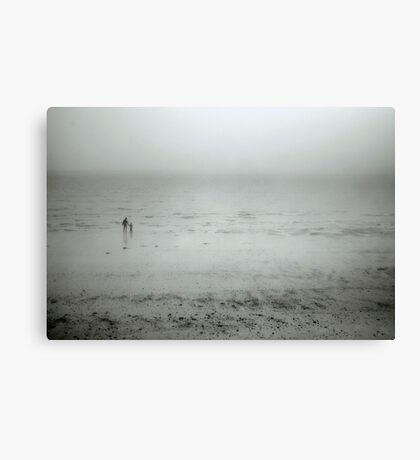 Walk to the Water Canvas Print