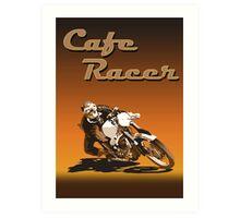 Cafe Racer Art Print