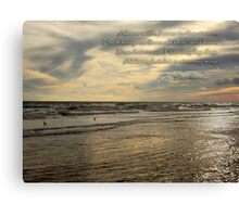 Trust Jesus Through the Storm Canvas Print