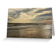 Trust Jesus Through the Storm Greeting Card
