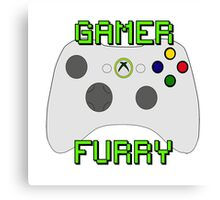 360 Gamer Fur Canvas Print