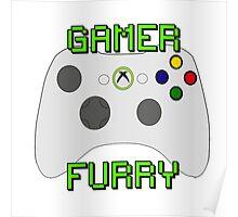 360 Gamer Fur Poster