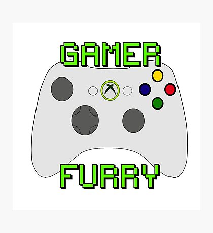 360 Gamer Fur Photographic Print