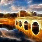 Bridge reflections with fractalius by Francesco Malpensi