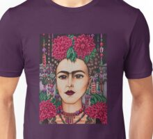 Frida Kahlo with lace Unisex T-Shirt