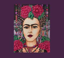 Frida Kahlo with lace Unisex T-Shirt
