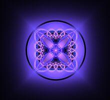 Purple Portal by Lyle Hatch