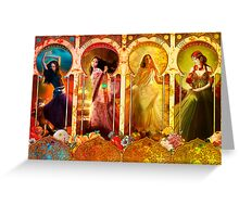 Joy Faith Hope & Love Greeting Card