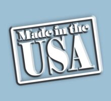 Made in the USA, Manufactured in America, American, Navy, Blue Kids Clothes