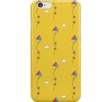 Great day to fly a kite iPhone Case/Skin