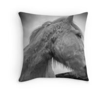Horse 80/4 Throw Pillow