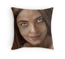 RAI: IN THE EYES OF BEAUTY ! Throw Pillow