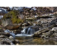 River Rock Photographic Print