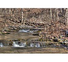 River Stream Photographic Print