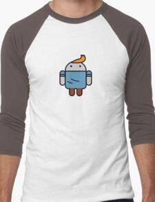 TinDroid Men's Baseball ¾ T-Shirt