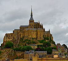 Mont St Michel by Mark Bowden