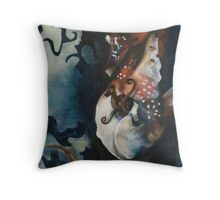Pappa Seahorse Throw Pillow