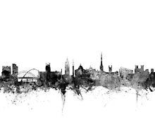 Newcastle England Skyline Photographic Print