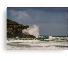 Fistral Beach,Newquay,Cornwall Canvas Print