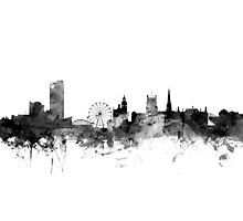 Sheffield England Skyline Photographic Print