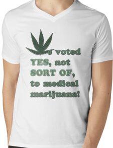 Medical Marijuana Tee Mens V-Neck T-Shirt