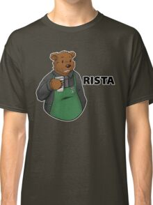 Brewce the Bearista (text) Classic T-Shirt