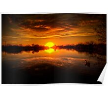 Dreamy Sunset II Poster