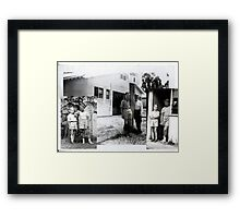 Hostel Days - back in the mid-fifties.  Framed Print
