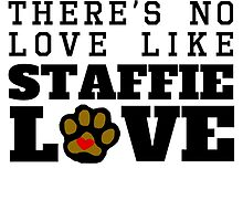 Staffie Love by GiftIdea