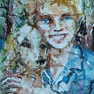 A Girl and Her Dog by Sally Sargent
