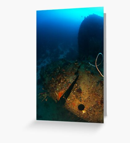Stern of the Windjammer, Bonaire Greeting Card