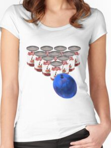 Bowling for Soup Can Women's Fitted Scoop T-Shirt