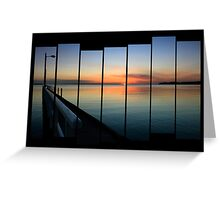 Open Sea View Greeting Card
