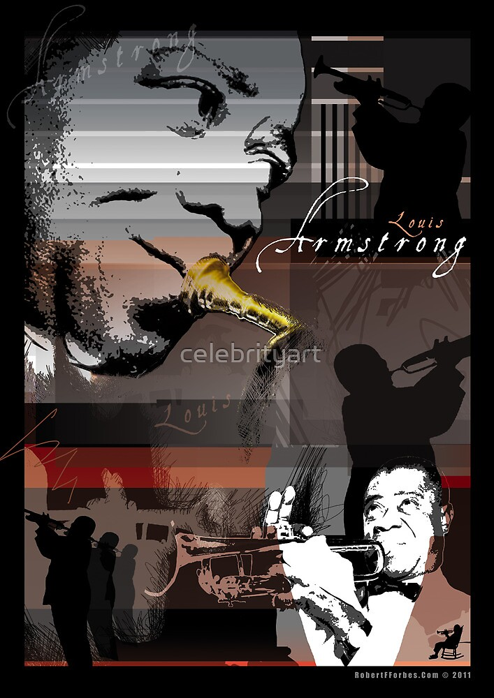 Louis Armstrong by celebrityart