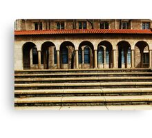 University Steps Canvas Print