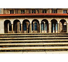 University Steps Photographic Print