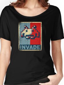 INVADE Women's Relaxed Fit T-Shirt