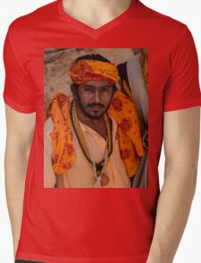 Sadhus of India Mens V-Neck T-Shirt