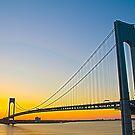 Dawnting the Bridge by DmitriyM