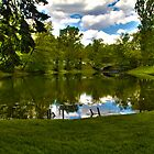 Staten Island Lake HDR by DmitriyM