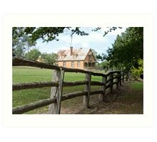 Craigmoor, Hill End, NSW, Australia Art Print