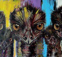 'Emus' by Cat Leonard
