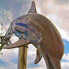 Dolphin Fountain by DmitriyM