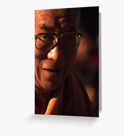 His Holiness. mcleod ganj, dharamsala, india Greeting Card