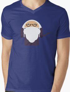 Dumbledroid Mens V-Neck T-Shirt