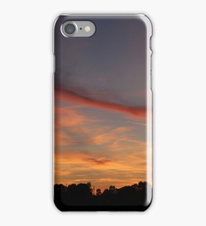French sunset iPhone Case/Skin