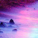 Iridescent Shore by Zach Pezzillo