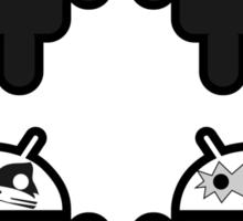 KISSdroids Sticker